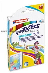 edding Funtastics - WINDOW COLOR Farbe im Stift
