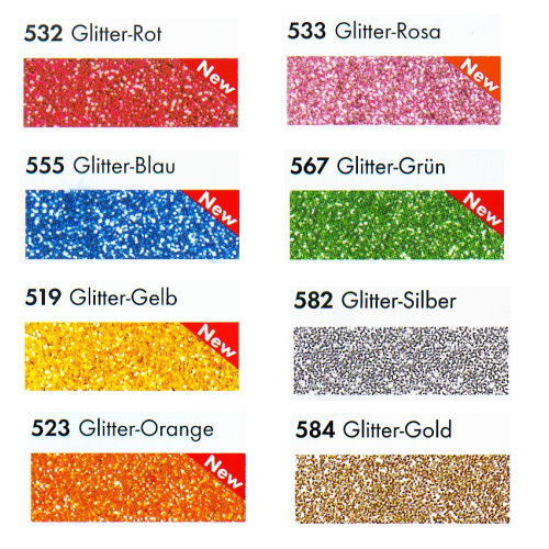 Marabu Textil Painter GLITTER Glitter-Gelb