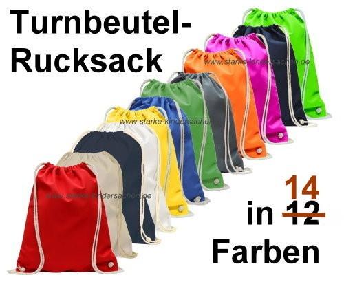 Turnbeutel-RUCKSACK Baumwolle 38x46cm