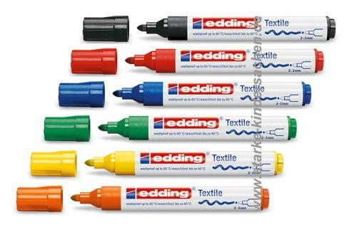 edding 4500 textile marker Stoffmalstifte in 10 Farben