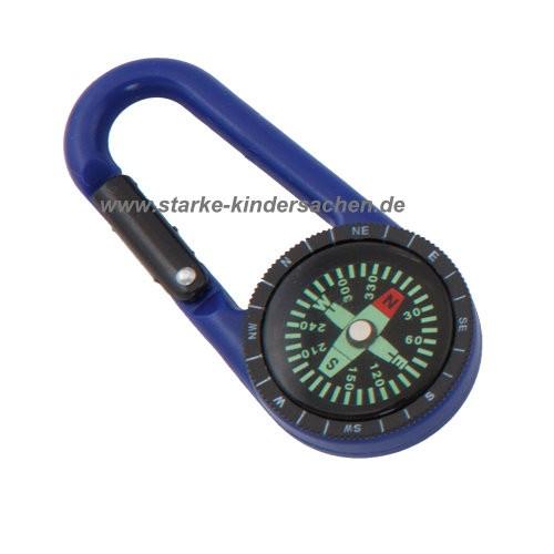 kleine Geschenke: Karabinerhaken mit Kompass