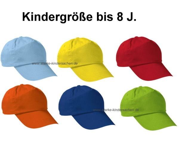 VK - Baseball-Cap für KINDER in 7 Farben