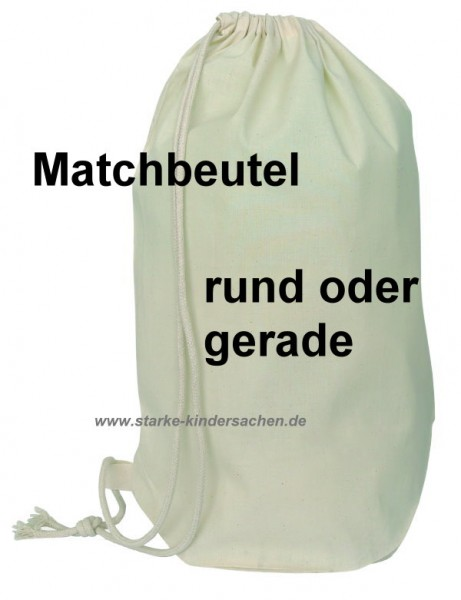 Matchbeutel Matchsack ca. 40x54cm