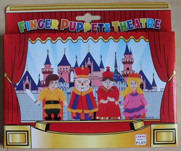 Fingerpuppentheater aus FILZ, zum Basteln