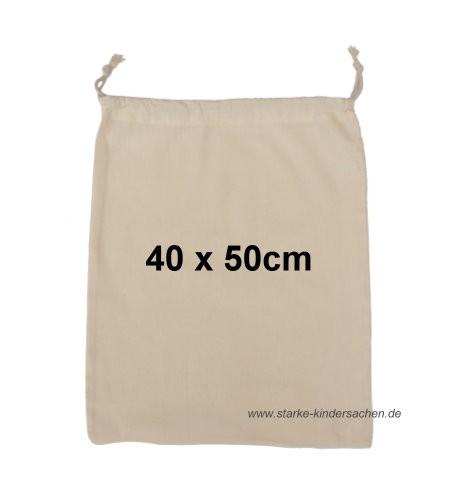 Turnbeutel GROSS, Baumwolle 40x50cm