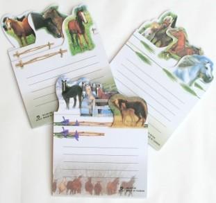 Pferde-Notizblock, Pferdeblöcke mit Mengenrabatt für Kindergruppen
