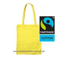 fairtrade_einkaufstasche_baumwolltasche_gelb_lange_Henkel