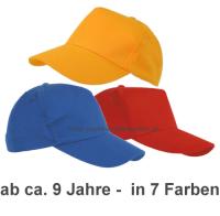 CE - stabiles Baseball-Cap in 7 Farben