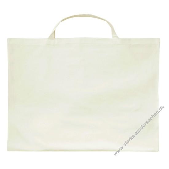 extrem große naturfarbene Einkaufstasche, neutral, ohne Aufdruck