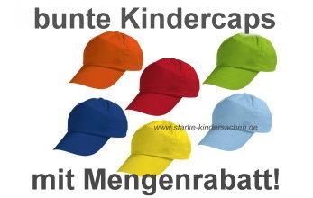 bunte_einfarbige_kindercaps