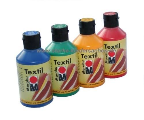 marabu 250ml Textilfarbe in der Flasche - Schulbedarf, Kindergartenbedarf